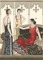 Art Deco Elegance IV Fine Art Print