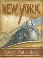 New York Central Line Framed Print