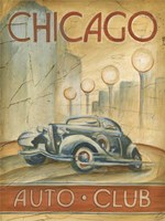 Chicago Auto Club Framed Print