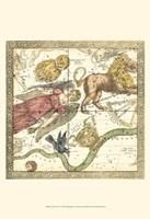 Zodiac Chart I Fine Art Print