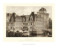 Petite Sepia Chateaux IV Giclee