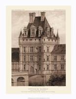 Petite Sepia Chateaux VIII Giclee