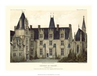 Petite French Chateaux VIII Framed Print