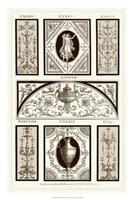Sepia Pergolesi Panel I Giclee