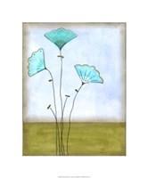 Minna's Garden I Framed Print