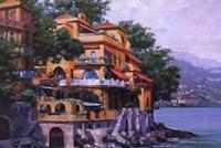 Portofino Villa Fine Art Print