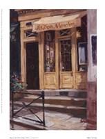 Shop Of The Three Steps, Paris Fine Art Print