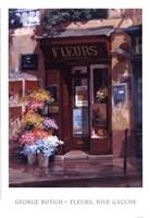 Fleurs, Rive Gauche Framed Print