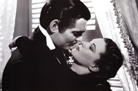 Gone with the Wind - Be Kissed Wall Poster