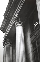 Columns At Entry Fine Art Print