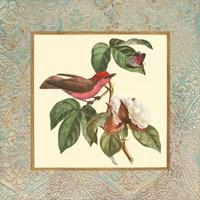 Bel Air Songbirds I Fine Art Print