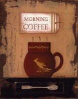 Morning Coffee Fine Art Print