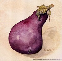 Eggplant Fine Art Print
