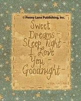 Goodnight Wishes Fine Art Print