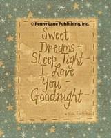 Goodnight Wishes Fine Art Print