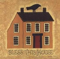 Bless This House Fine Art Print