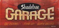 Shadetree Garage Fine Art Print