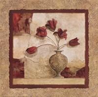 Cinq Tulipes Fine Art Print