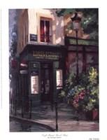 Left Bank Book Shop Fine Art Print