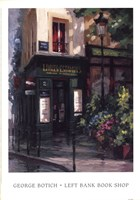 Left Bank Book Shop Fine Art Print