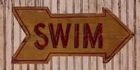 Go Swim Fine Art Print