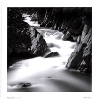 Running River Framed Print