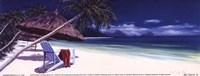 Secluded Beach II Framed Print