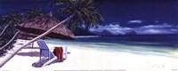 Secluded Beach II Fine Art Print