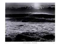 Montauk Surf Framed Print