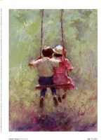 Summer Swing Fine Art Print
