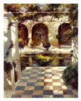 Courtyard Villa I Fine Art Print