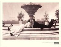 Meet Me At The Fountain 1908 Fine Art Print