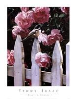 Millie's Garden Framed Print