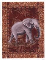 Lone Elephant Fine Art Print