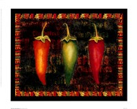Red Hot Chili Peppers I Framed Print