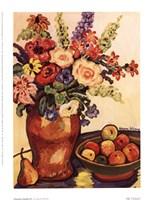 Provence Garden III Framed Print