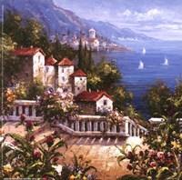 Mediterranean Arches III Fine Art Print