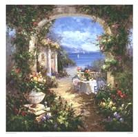 Mediterranean Arches II Fine Art Print