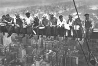 Lunchtime Atop a Skyscraper, c.1932 Wall Poster