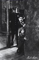 Charlie Chaplin - The Kid Wall Poster