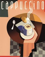 Cubist Cappuccino Fine Art Print