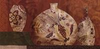 Golden Brocade II Fine Art Print