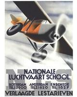 Nationale Luchtvaart School Fine Art Print