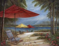 Relaxing Paradise I Fine Art Print