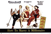 How to Marry a Millionaire Wall Poster