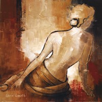 Seated Woman I Fine Art Print