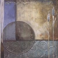 Inspiration In Blue II Fine Art Print