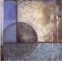 Inspiration In Blue II Framed Print