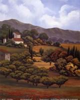 Italian Countryside I Fine Art Print