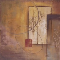 Inspiration In Ochre V Fine Art Print